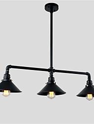 Lámparas Colgantes ,  Rústico/Campestre Cosecha Retro Pintura Característica for Mini Estilo Metal Comedor Cocina Vestíbulo Hall Garaje