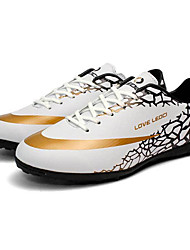 Sneakers Soccer Cleats Soccer Shoes/Football Boots Men's Cushioning Wearproof Waterproof Breathable Outdoor Printing Soccer/Football
