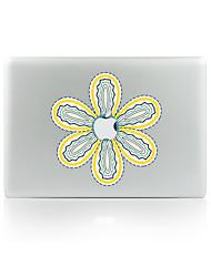 For MacBook Air 11 13/Pro13 15/Pro With Retina13 15/MacBook12 Flowers Decorative Skin Sticker Glow in The Dark