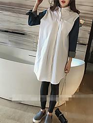 Damen Solide Sexy Formal T-shirt,Rundhalsausschnitt Kurzarm Seide