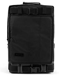 50 L Laptop Pack Rucksack School Security Traveling Outdoor Waterproof Multifunctional Black Oxford