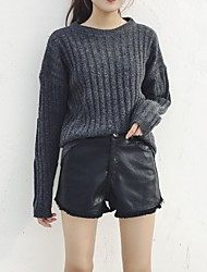 Sign fringed boots Korean Fan trousers wide leg pants loose pants casual pants female PU