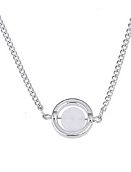 Lureme Movie Jewelry Silver Tone Twilight New Moon Bella Necklace