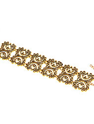 Women's Bangles Jewelry Alloy Fashion Flower Jewelry 1pc