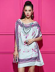Signe 2015 nouvelle robe classique style exotique en cape