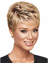 Personality Short Synthetic Wig Heat Resistant