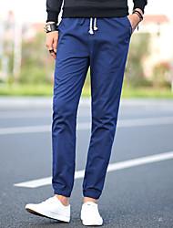 2017 hommes de printemps&Pantalons décontractés pantalons pantalons homme harem pantalons slim pantalons slim pantalons
