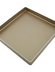 11inch square non stick cookie baking pan food grade aluminum cake mould heavy tray FDA