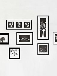Wall Stickers Wall Decals Style Art Frame PVC Wall Stickers