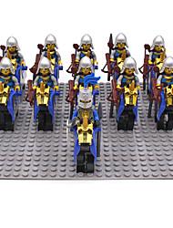 Blocs de Construction Pour cadeau Blocs de Construction Maquette & Jeu de Construction Guerrier Cheval 5 à 7 ans 8 à 13 ans 14 ans & Plus