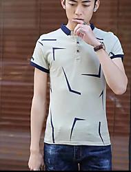 2017 Sommer neue Männer&# 39; s Revers Kurzarm T-Shirt schlanke koreanische Version von Casual Männer&# 39; s Polohemd