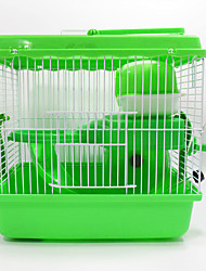 New Hot Sales high quality plastic multi-colored castle heightening pet hamster cage Grand Castle