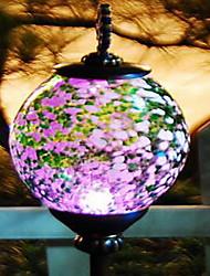 Lumières du jardin elliptique solaire (couleur aléatoire)