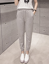 подписать спортивные брюки брюки программы П корейской женских брюк ноги брюки студентками свободные шаровары случайных штаны
