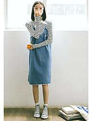 Denim skirt College Wind