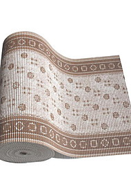Современные коврики для ванны из ПВХ (65 * 15 см) (случайный цвет)