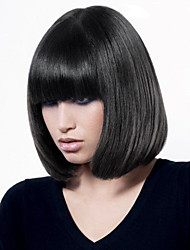 Ripe Black BoBo Hair  Synthetic Wig