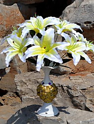 1 Une succursale Plastique Lis Fleur de Table Fleurs artificielles 28*28*32