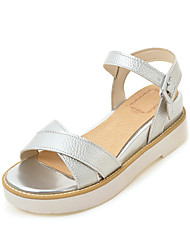 Women's Sandals Summer Gladiator Leatherette Casual Wedge Heel