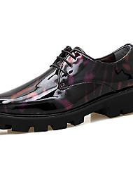 Мужские oxfords весна лето ползучие формальные туфли комфорт pu свадьба открытый офис&Карьера участника&Вечерние босоножки