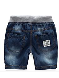 Jungen Shorts Lässig/Alltäglich einfarbig Polyester Sommer