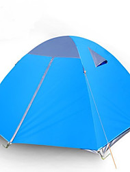 3-4 Personen Doppel Einzimmer Camping ZeltWandern Camping Reisen-Blau