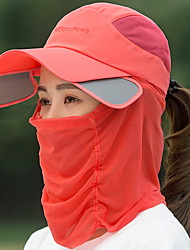 Women 's Summer Sunscreen Anti-UV Shade Candy Color English Printing Cover Face Empty Top Sun Hat