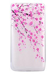 Pour Ultrafine Transparente Motif Coque Coque Arrière Coque Fleur Flexible PUT pour Huawei Huawei P8 Lite (2017) Huawei Honor 6X