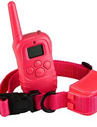 Dog Training Behaviour Aids Portable Anti Bark Red Fabric Plastic
