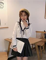 Signe collier de protection contre le vent chemise à manches longues en dentelle à l'oreille en bois