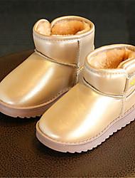 Girls' Loafers & Slip-Ons Spring Comfort PU Casual Flat Heel