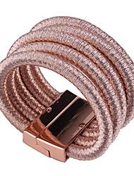 Femme Bracelets Bijoux Mode Vintage Style Punk Gemme Alliage Forme Géométrique Bijoux Pour Occasion spéciale