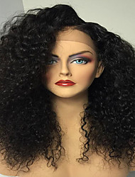 glueless pelucas del cordón del pelo humano 8-26 pulgadas glueless brasileñas vírgenes pelucas delanteras del cordón del pelo humano