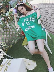 Sinal 1998 # bf vento seção de colarinho longo de letras soltas strapless de manga curta t-shirt