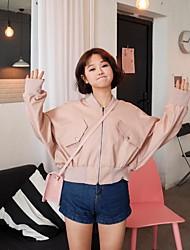 Signe un nouveau manteau coréen de chauve-souris manteau court multicolore