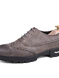 Masculino Sapatos De Casamento sapatos Bullock Sapatos formais Couro Ecológico Verão Outono Escritório & Trabalho Festas & Noite Casual