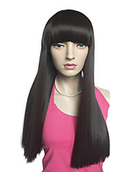Capless Kinky Straight Wig Costume Cosplay Wigs Synthetic Fiber Hairstyle