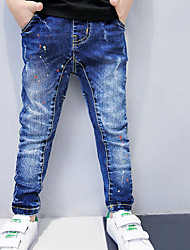 Boys' Casual/Daily Solid Pants Spring