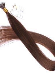 Pink Blue Grey #613 #60 #27 Nano Tip Hair Extensions 10A Peruvian Remy Human Hair Keratin Fusion Hair Extensions New Style Nano Tip Hair 100 Strands