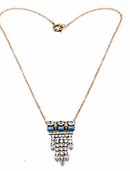 Women's Pendant Necklaces Geometric Chrome Personalized Euramerican Jewelry For Wedding Congratulations