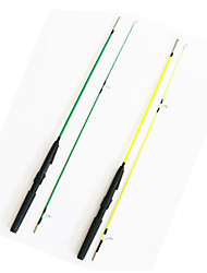 Fonoun Sea Fishing Rod Fly Rod Ice Fishing Rod Plastic 135cm Ice Fishing Rod  with Reel Hook Float  FT13