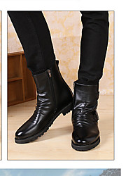 Men's Boots Summer T-Strap Rubber Casual