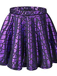 Girls' Animal Print Skirt-Polyester Nylon All Seasons