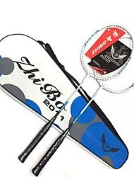 Raquetes para Badminton Durabilidade Leve Liga de Alúminio Um Par × 2 para Ao ar Livre Espetáculo Praticar Esportes de Lazer