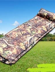 Moistureproof/Moisture Permeability Inflated Mat Sleeping Pad Hiking Camping Traveling