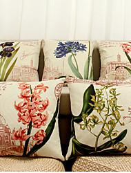5 Pcs  beautiful flower Decorative Pillow Cover
