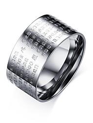 Ring Kreis Stahl Runde Form Gold Silber Schmuck Für Alltag 1 Stück