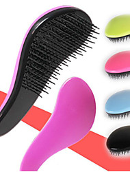 1 Pcs Fashion Magic Detangling Handle Tangle Small Hair Brush Comb Salon Styling Tamer Tool High Quality Colorful Hair Combs Random Colors