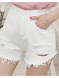 Femme simple Taille Haute non élastique Short Pantalon,Droite Camouflage