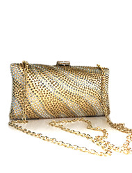 Women Rhinestone Event/Party Clutch Bag GOLD / Silver / Black/Navy